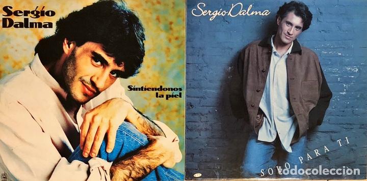 LOTE 2 LP'S SERGIO DALMA (Música - Discos - LP Vinilo - Grupos Españoles de los 90 a la actualidad)