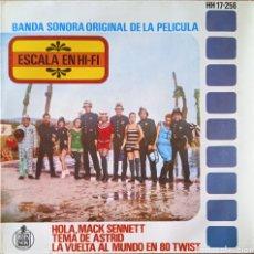 Discos de vinilo: EP ESCALA EN HI-FI (BSO). Lote 230920165