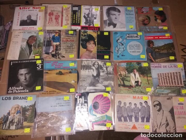 LOTE 2 DE ARTISTAS O SOLISTAS DE AÑOS Y COTIZADOS (Música - Discos - Singles Vinilo - Solistas Españoles de los 50 y 60)