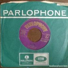 Discos de vinilo: TOMMY WATT. LOUISE/ EASY COME. PARLOPHONE, UK 1956 SINGLE. Lote 230934855