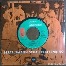 Discos de vinilo: PEPPINO DI CAPRI. ROBERTA/ SOLO DUE RIGHE/ BOOM BOOM SURF/ VITA DIFFICILE. INTERNATIONAL FRANCE 1964. Lote 230935680
