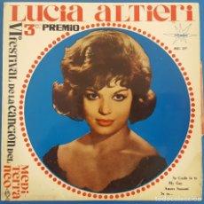 Discos de vinilo: EP / LUCIA ALTIERI / IO CREDO IN TEI / MARFER 1964. Lote 230942850