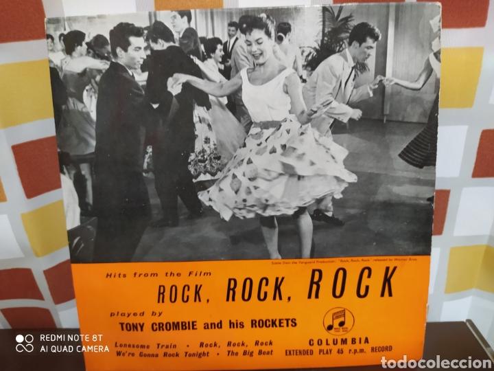 TONY CROMBIE AND HIS ROCKETS -HITS FROM THE FILM ROCK, ROCK, ROCK. EP ORIGINAL 1957 - BUEN ESTADO (Música - Discos de Vinilo - EPs - Rock & Roll)