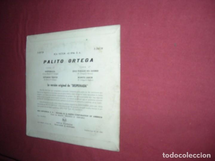 Discos de vinilo: Palito Ortega  ep 1964 spa Despeinada / Estamos Tristes / Deci Porque No Queres / Bonito Amor - Foto 2 - 230960680