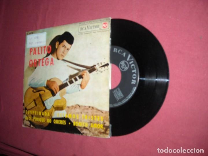 PALITO ORTEGA  EP 1964 SPA DESPEINADA / ESTAMOS TRISTES / DECI PORQUE NO QUERES / BONITO AMOR (Música - Discos de Vinilo - EPs - Solistas Españoles de los 50 y 60)