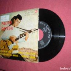 Discos de vinilo: PALITO ORTEGA  EP 1964 SPA DESPEINADA / ESTAMOS TRISTES / DECI PORQUE NO QUERES / BONITO AMOR. Lote 230960680