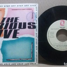 Disques de vinyle: THE FURIOUS FIVE / STEP OFF / SINGLE 7 INCH. Lote 230964175