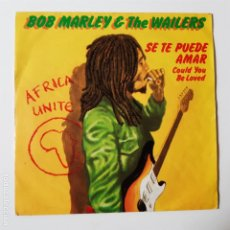 Discos de vinilo: BOB MARLEY- SE TE PUEDE AMAR (COULD YOU BE LOVED)- SPAIN SINGLE 1980- VINILO EXC. ESTADO.. Lote 230972015