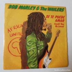 Discos de vinilo: BOB MARLEY- SE TE PUEDE AMAR (COULD YOU BE LOVED)- SPAIN SINGLE 1980- VINILO COMO NUEVO.. Lote 230974005