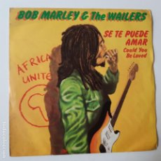 Dischi in vinile: BOB MARLEY- SE TE PUEDE AMAR (COULD YOU BE LOVED)- SPAIN SINGLE 1980- VINILO COMO NUEVO.. Lote 230974300