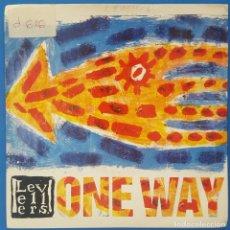 Discos de vinilo: SINGLE / THE LEVELLERS – ONE WAY / CHINA RECORDS 1991 INGLATERRA. Lote 230978515