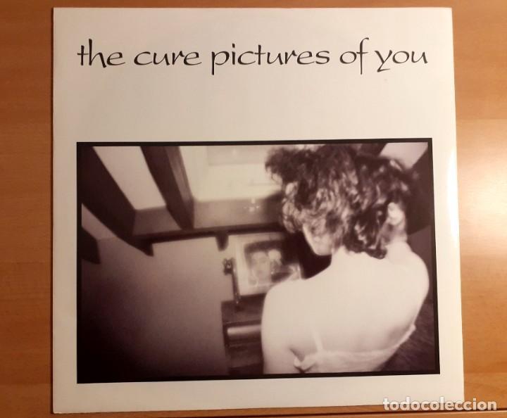 """THE CURE PICTURES OF YOU MAXI SINGLE 12"""" 1990 45 RPM FICTION RECORDS MUY RARO!!! (Música - Discos de Vinilo - Maxi Singles - Pop - Rock Internacional de los 90 a la actualidad)"""