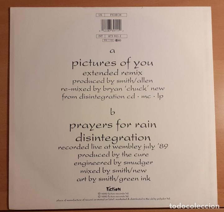 "Discos de vinilo: THE CURE PICTURES OF YOU MAXI SINGLE 12"" 1990 45 RPM FICTION RECORDS MUY RARO!!! - Foto 2 - 230990140"