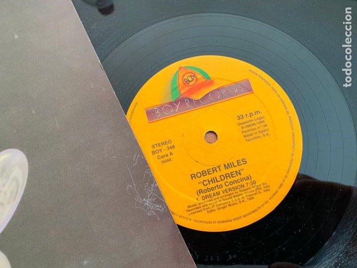 Discos de vinilo: ROBERT MILES (CHILDREN) MAXI 1995 ESPAÑA (B-14) - Foto 2 - 230995450