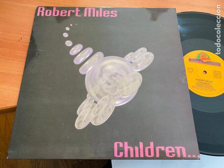 ROBERT MILES (CHILDREN) MAXI 1995 ESPAÑA (B-14) (Música - Discos de Vinilo - Maxi Singles - Techno, Trance y House)