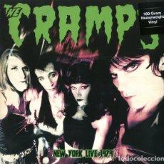 Discos de vinilo: THE CRAMPS * LP HEAVYWEIGHT 180G. VIRGIN VINYL * LIVE EN NEW YORK 1978 * PRECINTADO!!. Lote 231010520