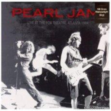 Discos de vinilo: PEARL JAM * LP HEAVYWEIGHT HQ 180G. VIRGIN VINYL * LIVE AT THE FOX THEATRE 1994 * PRECINTADO!!. Lote 231018020