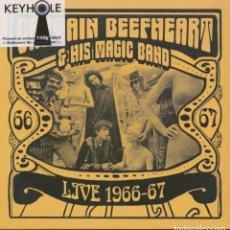 Discos de vinilo: CAPTAIN BEEFHEART & HIS MAGIC BAND * LP 180G * LIVE 1966-67 * LTD INCLUYE INSERT * PRECINTADO!!. Lote 231027310