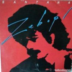 Discos de vinil: SANTANA, ZEBOP! LP EDICION ESPAÑOLA 1981. Lote 231030485