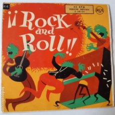 Discos de vinilo: ELVIS PRESLEY- CHET ATKINS - ROCK AND ROLL- SPAIN EP 1956.. Lote 231032410