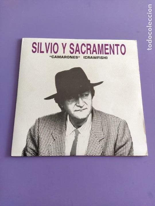 Discos de vinilo: JOYA SG PROMOCIONAL. SILVIO Y SACRAMENTO.CAMARONES.MANO NEGRA 1990.BARRA LIBRE LUZBEL ROCK SEVILLANO - Foto 2 - 231033185