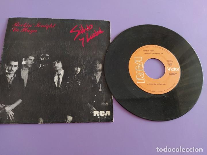 SG.SILVIO Y LUZBEL.ROCKIN´TONIGHT/LA PLAYA( PB 7716 RCA,1980) FDEZ MELGAREJO.BARRALIBRE Y SACRAMENTO (Música - Discos - Singles Vinilo - Grupos Españoles de los 70 y 80)