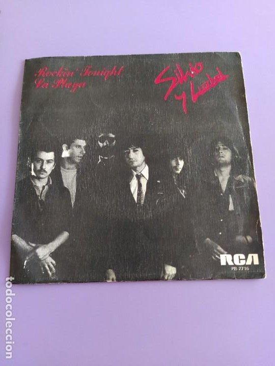 Discos de vinilo: SG.SILVIO Y LUZBEL.ROCKIN´TONIGHT/LA PLAYA( PB 7716 RCA,1980) FDEZ MELGAREJO.BARRALIBRE Y SACRAMENTO - Foto 2 - 231038905