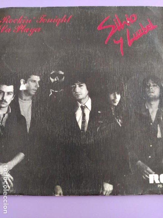 Discos de vinilo: SG.SILVIO Y LUZBEL.ROCKIN´TONIGHT/LA PLAYA( PB 7716 RCA,1980) FDEZ MELGAREJO.BARRALIBRE Y SACRAMENTO - Foto 3 - 231038905