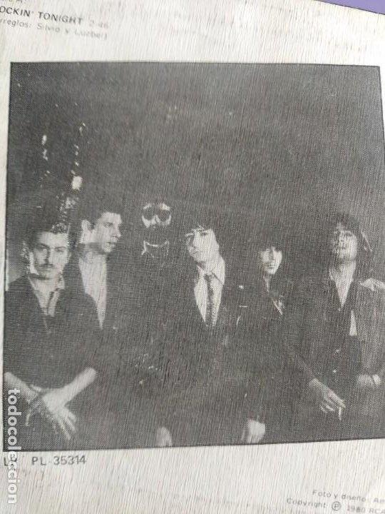 Discos de vinilo: SG.SILVIO Y LUZBEL.ROCKIN´TONIGHT/LA PLAYA( PB 7716 RCA,1980) FDEZ MELGAREJO.BARRALIBRE Y SACRAMENTO - Foto 5 - 231038905