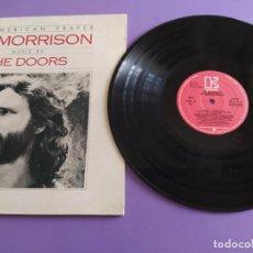Discos de vinilo: GENIAL LP. JIM MORRISON & THE DOORS - AN AMERICAN PRAYER. ELKTRA L 52111.SPAIN .DOBLE PORTADA 1979.. Lote 231047250