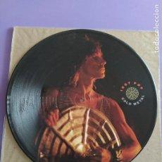 Discos de vinilo: JOYA DIFICIL. PICTURE. IGGY POP. COLD METAL/INSTINCT. SELLO AM RECORDS. AMP 452. UK. 1988.. Lote 231048770