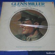Discos de vinilo: LOTT110B LP JAZZ UK CIRCA 1977 GLENN MILLER A LEGENDARY PERFORMER VOL 3 BUEN ESTADO. Lote 231056060