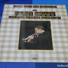 Discos de vinilo: LOTT110B DOBLE LP JAZZ UK 70S RUBY BRAFF AND GEORGE BARNESS ORCHESTRA EN VOGUE BUEN ESTADO. Lote 231058475