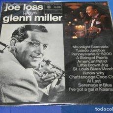 Discos de vinilo: LOTT110B LP VERVE JAZZ UK AÑOS 70 JOE LOSS PLAYS GLENN MILLER ACUSA CIERTO USO LEVE. Lote 231061295