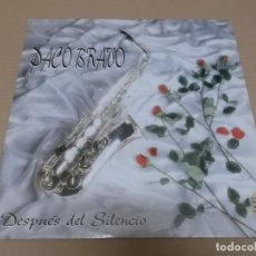 Discos de vinilo: PACO BRAVO (MAXI) DESPUES DEL SILENCIO (2 TRACKS) AÑO 1993. Lote 231075395