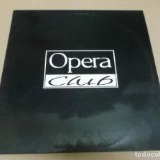 Discos de vinilo: OPERA CLUB (MAXI) LEJOS DEL MUNDO (3 TRACKS) AÑO 1992. Lote 231076530