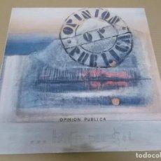 Discos de vinilo: OPINION PUBLICA (MAXI) MI SUERTE (4 TRACKS) AÑO 1991. Lote 231076655