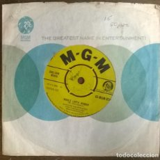 Discos de vinilo: MARVIN RAINWATER. WHOLE LOTTA WOMAN/ BABY DON'T GO. MGM, UK 1958 SINGLE. Lote 231082155