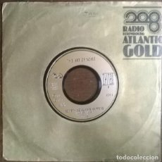 Discos de vinilo: THE ART OF NOISE FEATURING DUANE EDDY. PETER GUNN/ SOMETHING ALWAYS HAPPENS. WB, UK 1986 SINGLE. Lote 231082740