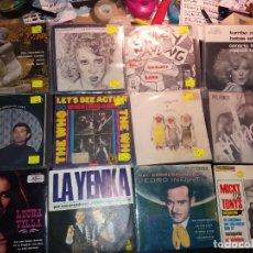 Discos de vinilo: LOTE DE SINGLES VARIADO. Lote 231084965
