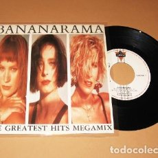 Discos de vinilo: BANANARAMA - THE GREATEST HITS MEGAMIX - SINGLE - 1988. Lote 231087955