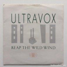 Discos de vinilo: ULTRAVOX – REAP THE WILD WIND / HOSANNA (IN EXCELSIS DEO) UK,1982. Lote 231088980