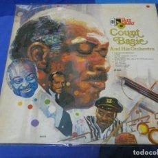 Discos de vinilo: LOTT110C LP UK AÑOS 80 COUNT BASIE AND ORCH EN LA SERIE JAZZ VAULT BUEN ESTADO. Lote 231123915