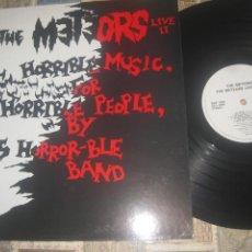 Discos de vinilo: THE METEORS LIVE II HORRIBLE MUSIC FOR HORRIBLE PEOPLE (DOJO -1986) OG ENGLAND SIN SEÑALES DE USO. Lote 231125575