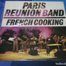Discos de vinilo: LOTT110C LP JAZZ SONET 85 USA PARIS REUNION BAND FRENCH COOKING BUEN ESTADO GENERAL. Lote 231142960