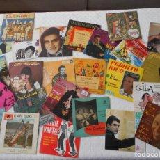 Discos de vinilo: LOTAZO DE 25 SINGLESDE VINILO VARIADOS. Lote 231146530