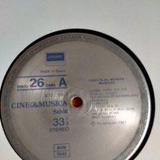 Discos de vinilo: VUELTA AL MUNDO MUSICAL - CINE & MUSICA SALVAT 26 - KING KONG-ON THE BEACH-THE LION-INDIAN CONCERT... Lote 231153385