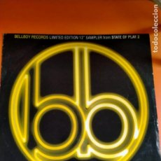 Discos de vinilo: VARIOUS STATE OF PLAY 2 - 1994 - MAXI - SOLO PORTADA. Lote 231157680