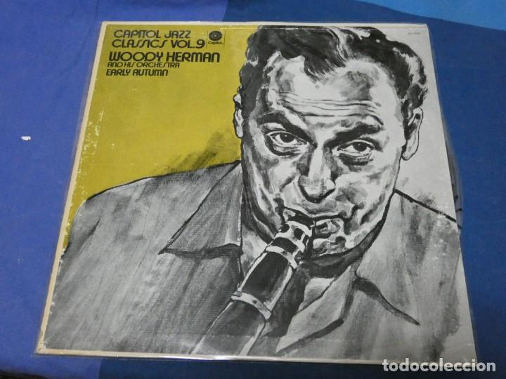 LOTT110C LPUSA 70S TAPA DECENTE VINILO BUEN ESTADO CAPITOL JAZZ CLASICS VOL 9 (Música - Discos - LP Vinilo - Jazz, Jazz-Rock, Blues y R&B)