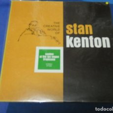 Discos de vinilo: LOTT110C LP UK 70S THE CREATIVE WORLD OF STAN KENTON UK 70S BUEN ESTADO AT LAS VEGAS TROPICANA. Lote 231166880